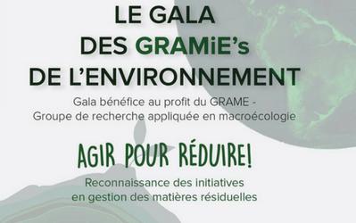 The GRAMiE'S Environment Gala
