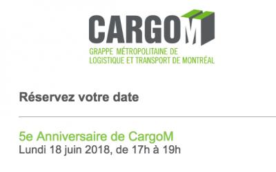 CargoM fête son 5ème anniversaire
