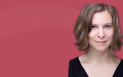 Maude Brunet reçoit le prix Relève Étoile du Fonds Société et Culture
