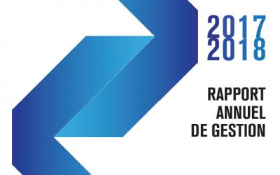 Rapport annuel de gestion 2017-2018