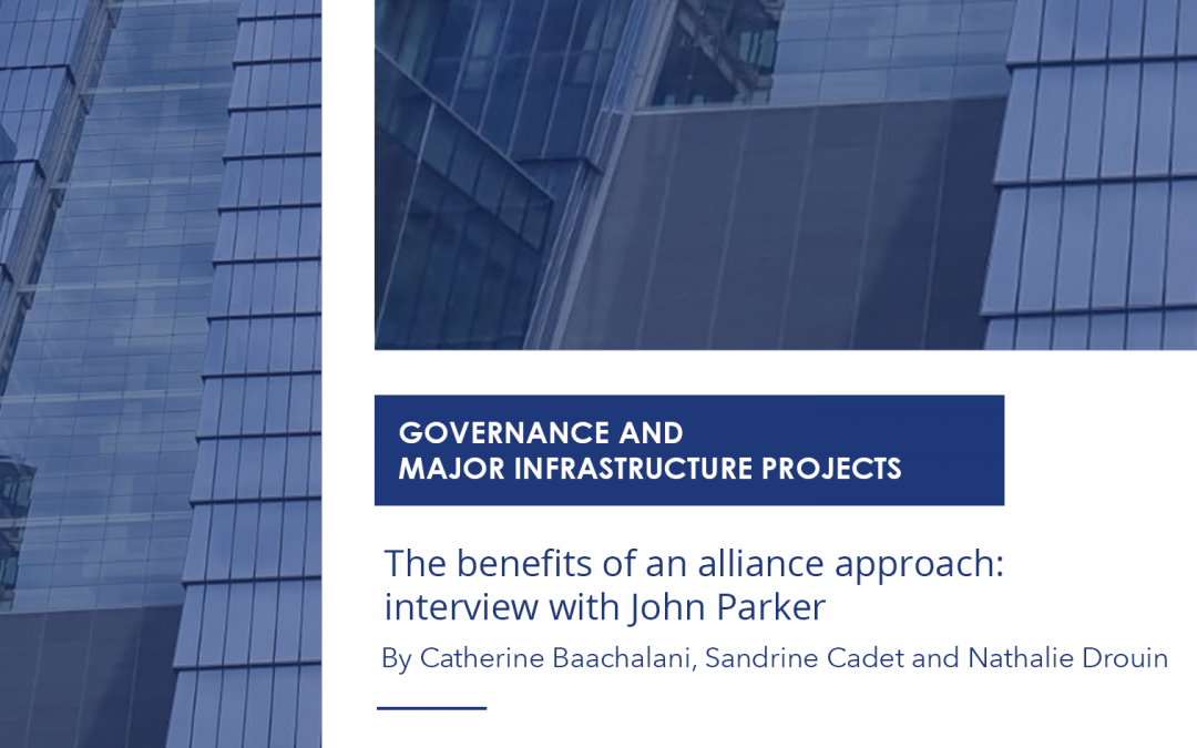 """NOW AVAILABLE: THE ARTICLE """"THE BENEFITS OF AN ALLIANCE APPROACH: INTERVIEW WITH JOHN PARKER"""""""