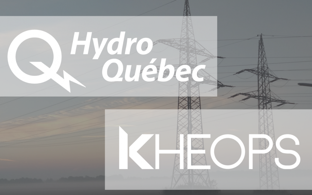 KHEOPS ANNOUNCES A NEW PARTNERSHIP WITH HYDRO-QUÉBEC