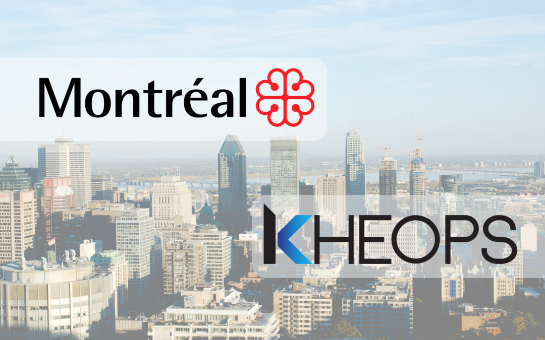 KHEOPS RENEWED ITS PARTNERSHIP WITH THE CITY OF MONTREAL