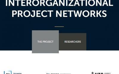 Le projet de recherche sur la gouvernance de projets réalisés en réseau interorganisationnel a une nouvelle page web