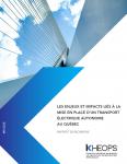 Enjeux et impacts liés à la mise en place d'un transport électrique autonome au Québec