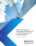 Impacts des véhicules autonomes électriques sur l'utilisation du sol et les activités urbaines