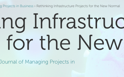 Call for papers | Rethinking Infrastructure Projects for the New Normal
