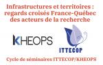Infrastructures et territoires : regards croisés France-Québec