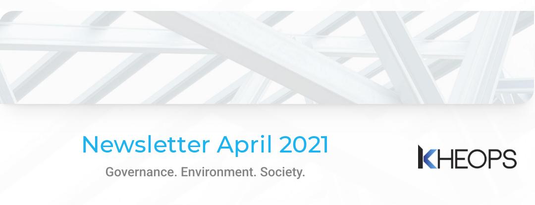 April 2021 Newsletter is online