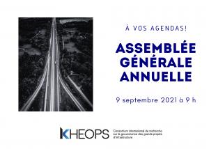 assemblée générale annuelle 9 septembre 2021