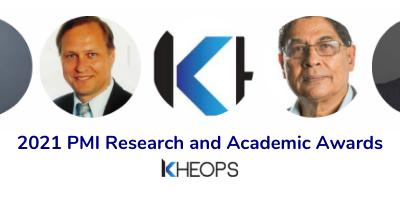 PMI Research and Academic Awards 2021 : quatre chercheurs de la communauté KHEOPS se distinguent